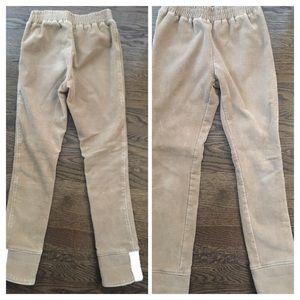 Other - Girls fleece/corduroy pants - size L (12-14 slim)